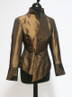 Gold Asymmetric Jacket