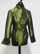 Green Asymmetric Jacket
