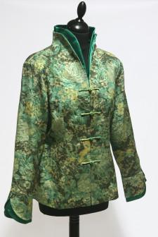 Green Floral Jacket