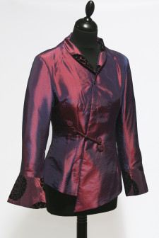 Pink Asymmetric Jacket