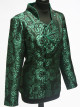 Green Rose Patterned Jacket
