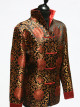 Red and Gold Ornate Patterned Jacket
