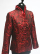 Red Paisley Patterned Jacket