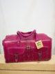 Large Leather Handbag by Atlas Bags – Fuchsia