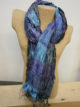 Silkthreads Elastic Scarf – Bright Blue