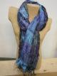 Silkthreads Elastic Scarf – Bright Blue