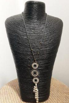 Stitch Beaded Necklace