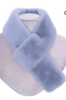 Luxury Faux Fur Pull Through Collar