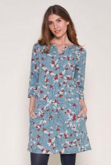 Flower Shift Dress
