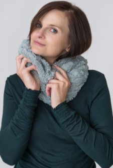 Duck Egg Blue Snood