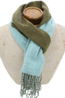 Hector Scarf – Green/ Turquoise