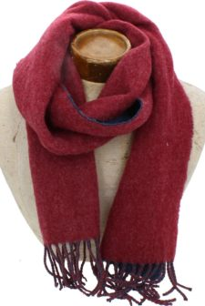 Red & Navy Hector Unisex Scarf