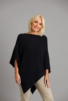 Black Star Poncho